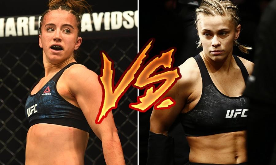 UFC Phenom Maycee Barber Steps Up Attack on Paige VanZant
