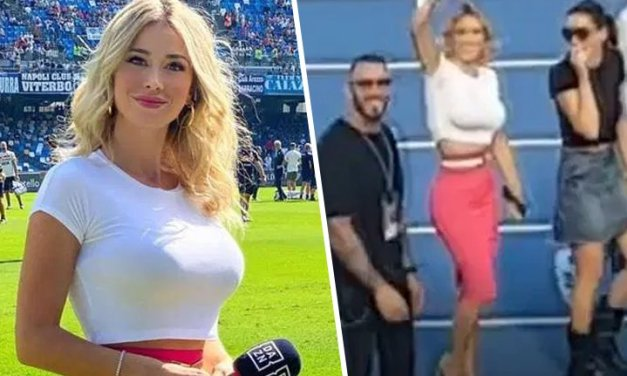 Sideline Reporter Responds To Fans Chanting 'Get Your T*ts Out'
