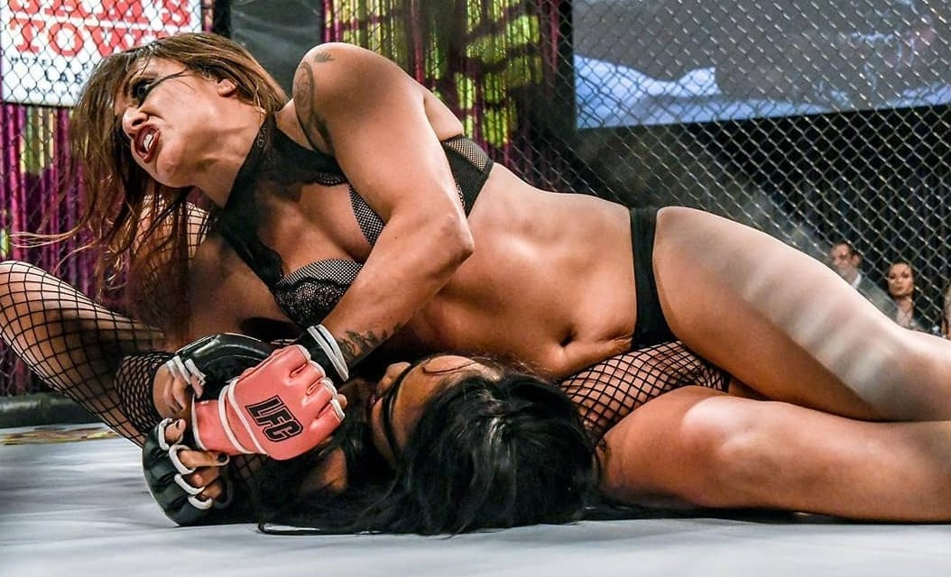 Lingerie MMA Promotion Interested in Signing Female Boxer After Weigh in Kiss
