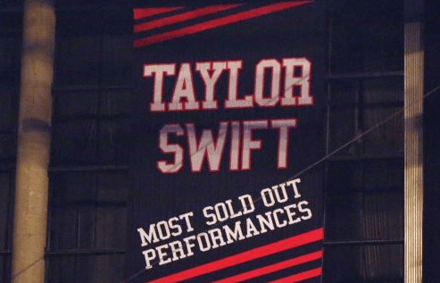 The Kings Announce That They're Covering Up a Taylor Swift Banner at the Staples Center During Games