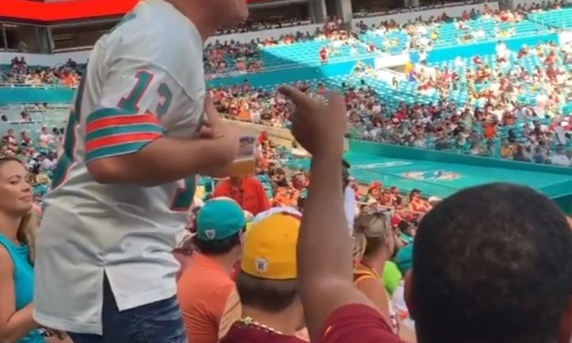 Dolphins Fan Started a Fight with the Bang Bros Porn Girls