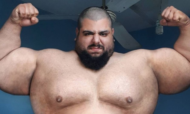 390-Pound 'Iranian Hulk' Signs for Bare Knuckle Fighting Championship