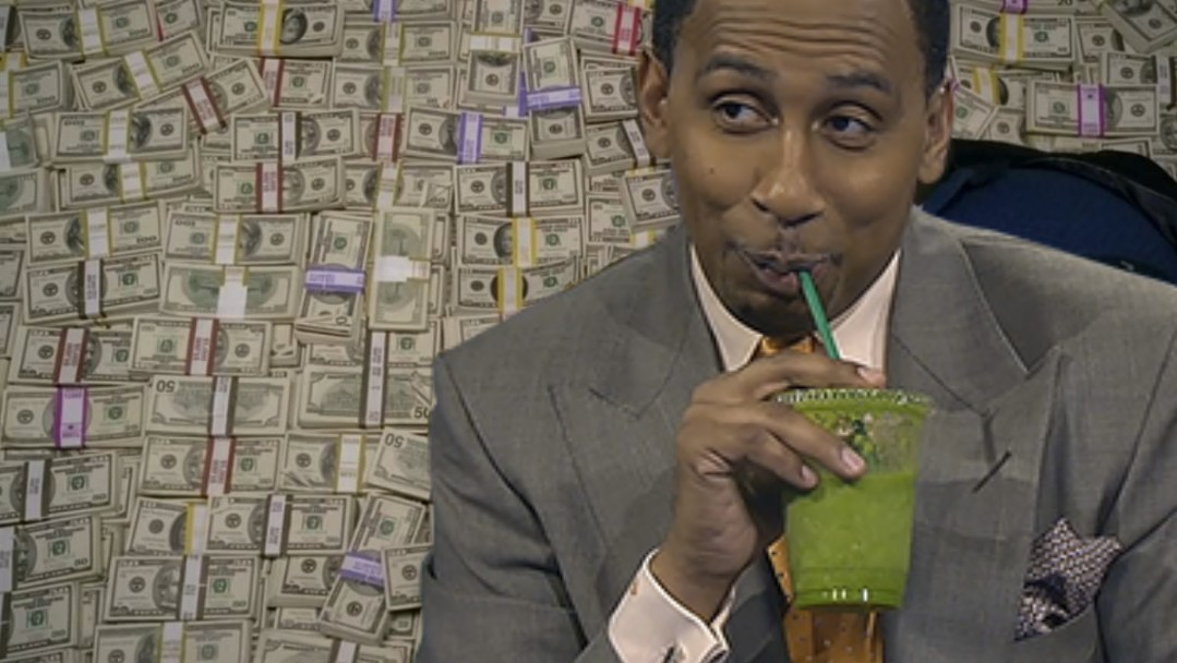 Stephen A. Smith and ESPN Agree To Massive 8-Figure Deal