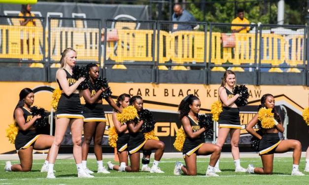 Georgia College Pays Cheerleader $145K to Settle Kneeling Anthem Lawsuit