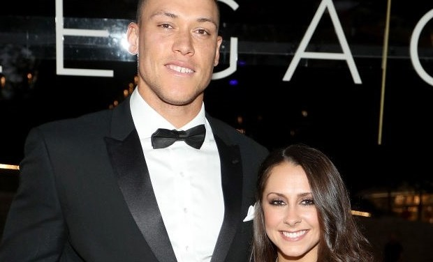 Aaron Judge and his Girlfriend Samantha Bracksieck Spotted at Dinner in Phoenix