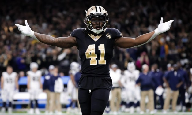 It Looks Like Alvin Kamara's Stripper Girlfriend Has Moved in With the Saints Running Back
