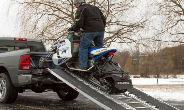 Snow mobile loading ramps:-