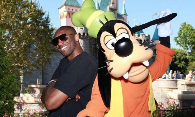 Heartbreaking Pics Showing Kobe Bryant and his Family On a Day out at Disneyland Just Weeks Before He Died