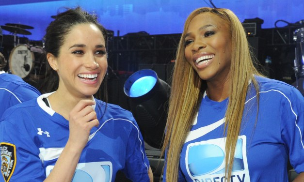 Serena Williams Is Asked About Her Friend Meghan Markle