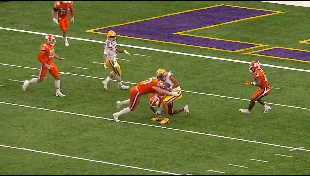 Clemson LB James Skalski Was Ejected from the National Championship Game for Targeting
