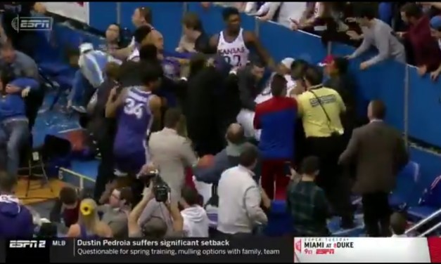 Wild Brawl Broke Out at the End of the Kansas and Kansas State Game