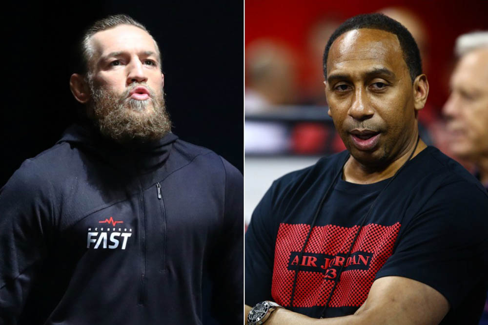 Conor McGregor Wants Stephen A. Smith to Apologize to Joe Rogan