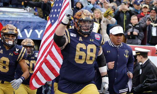 Navy Football Player Found Dead in His Dorm Room