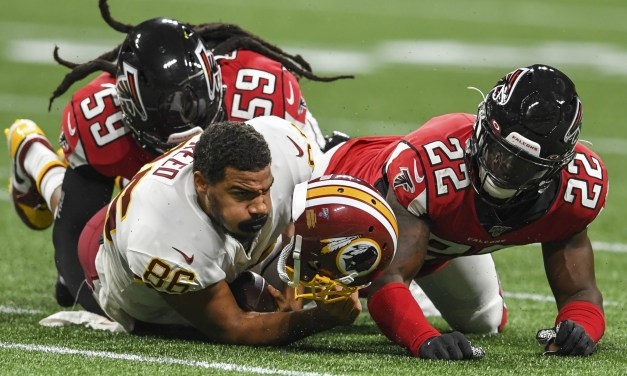 Redskins TE Jordan Reed is Reportedly Still in Concussion Protocol for Hit He Took in Preseason