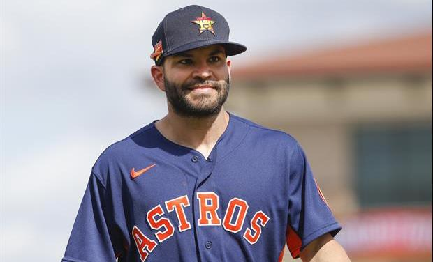 Jose Altuve Was Hit By Pitch In First Spring Training Game