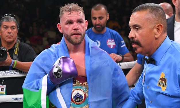 Boxer Billy Joe Saunders License Suspended Following Controversial Video he Posted Condoning Domestic Violence