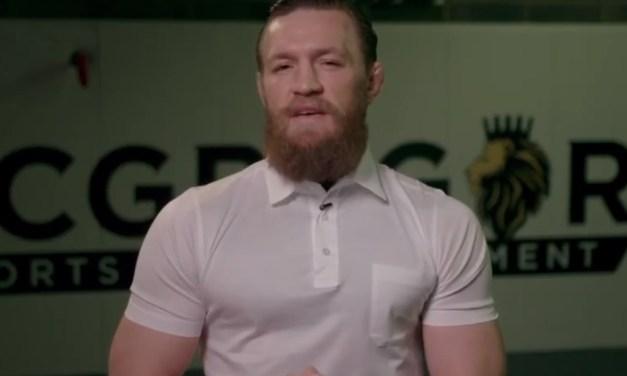 Conor McGregor Calls for 'Full 24-Hour Patrol' of Irish Military