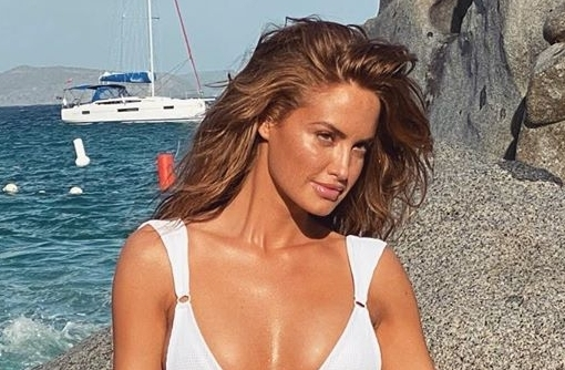 Haley Kalil Shared a Look at Her Most Recent Sports Illustrated Swimsuit Shoot