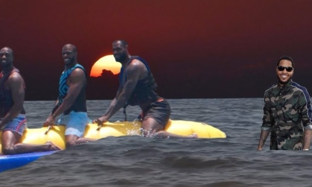 LeBron James Saved Carmelo After He Was Nearly Lost in the Ocean