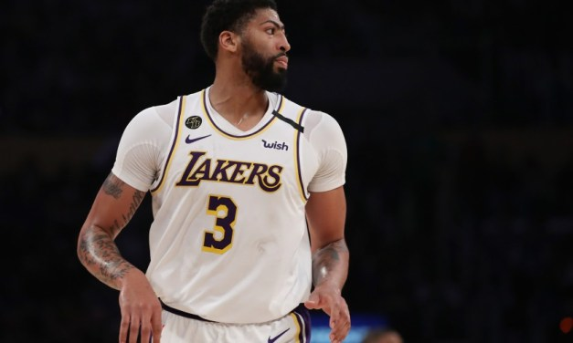 Anthony Davis Talks About What Lakers Players Are Doing During Lockdown