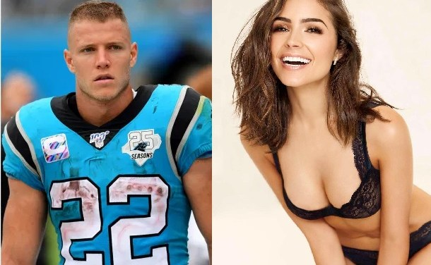Christian McCaffrey Getting Crap From Olivia Culpo About Food in Fridge