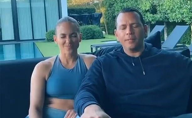 Alex Rodriguez and Jennifer Lopez Drop 'Couples Challenge' Video