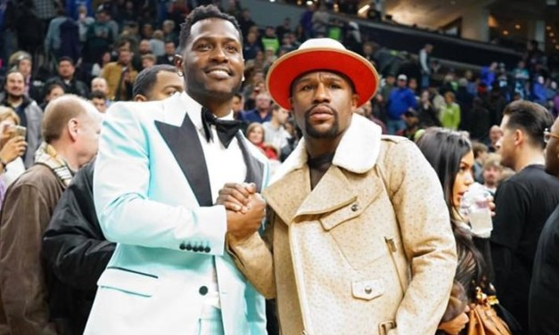Floyd Mayweather Schooled Antonio Brown On Not Paying Taxes