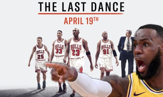 LeBron James Reacts To Chicago Bulls New Documentary