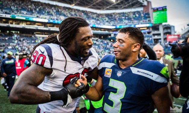 Russell Wilson Begs Jadeveon Clowney to Return to the Seahawks