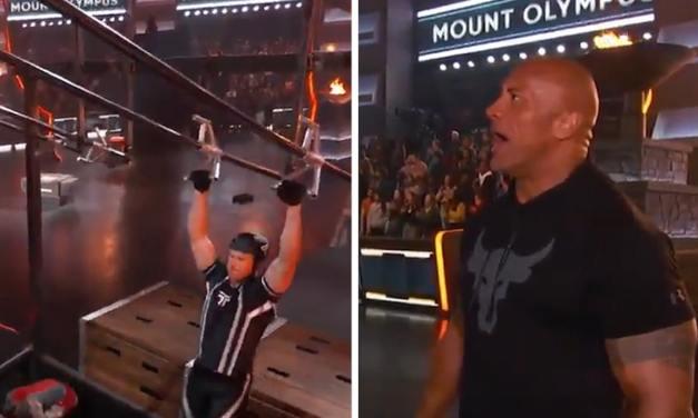 Joe Thomas Impresses Dwayne 'The Rock' Johnson in 'Titan Games'