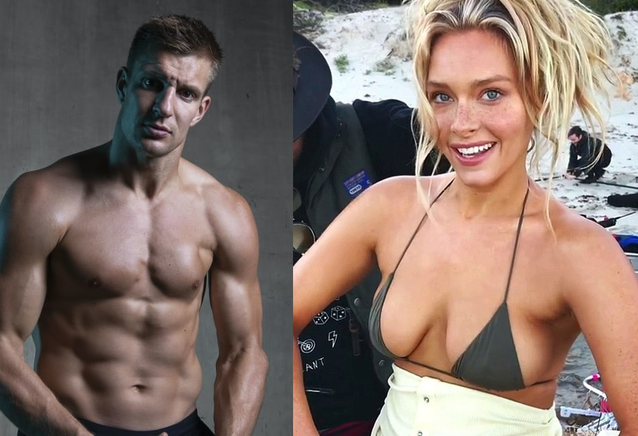 Gronk's Girlfriend Getting Him Ready for the NFL Season