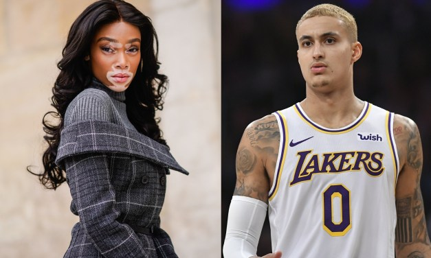 Kyle Kuzma and Model Winnie Harlow Spotted Hand in Hand During Quarantine