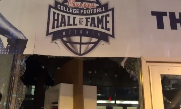 College Football Hall of Fame Destroyed by Protesters