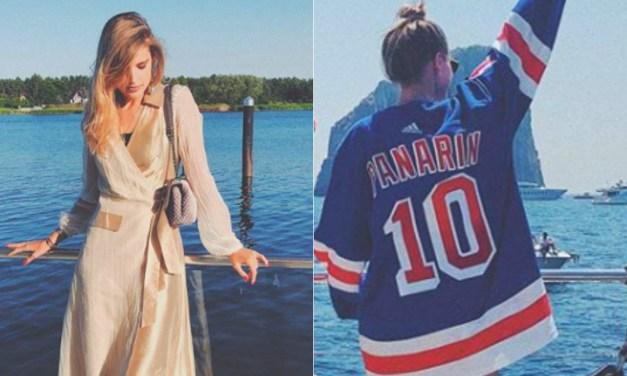 New York Rangers Artemi Panarin's Girlfriend Speaks Out On Civil Unrest in US
