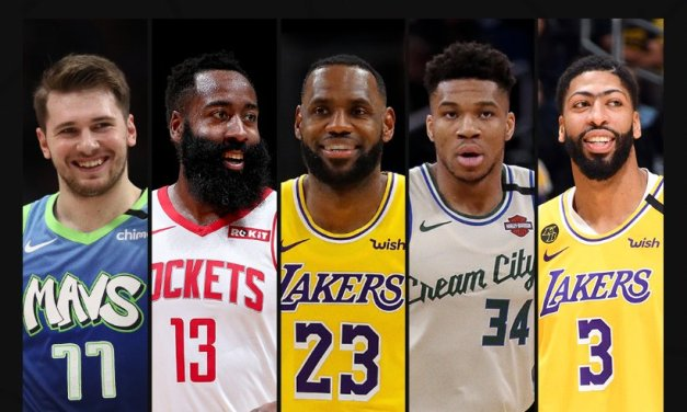 LeBron, Giannis, Luka part of All-NBA 1st team