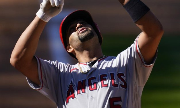 Albert Pujols Homers Twice, Passes Mays for Fifth All Time