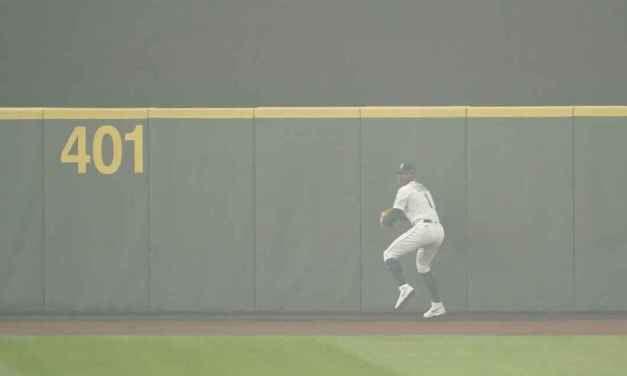A's-Mariners Games Played Under Haze of Smoke