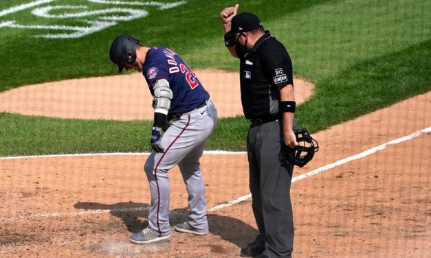 Josh Donaldson ejected for kicking dirt on home plate after hitting HR