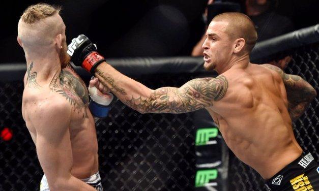 McGregor says he will fight Poirier on Jan. 23