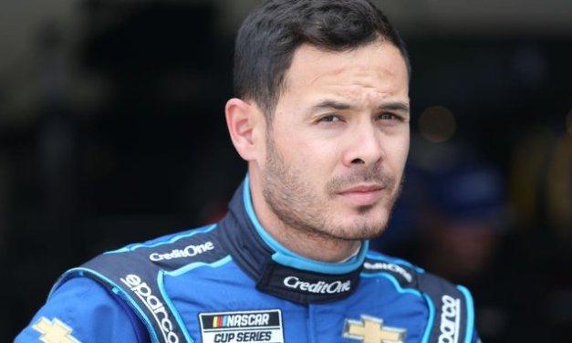 Larson wins first NASCAR race since ban for slur