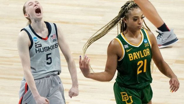Baylor calls foul on non-call in loss to UConn