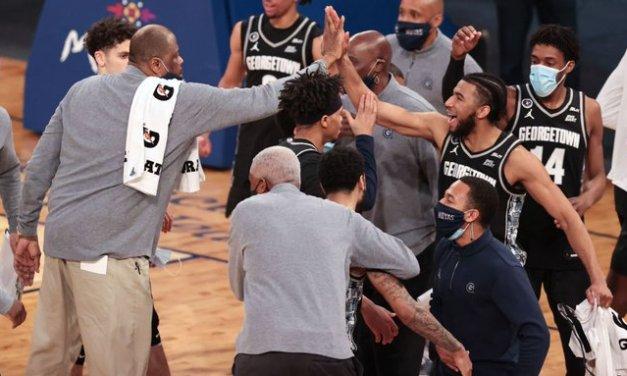 Ewing, Hoyas take Big East, NCAA bid in blowout