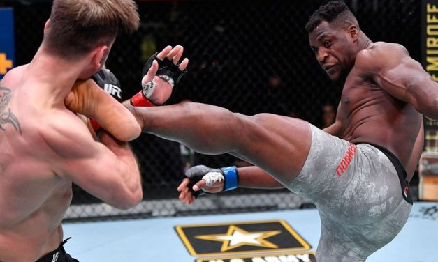 Ngannou eyes two more fights in '21; Jones first