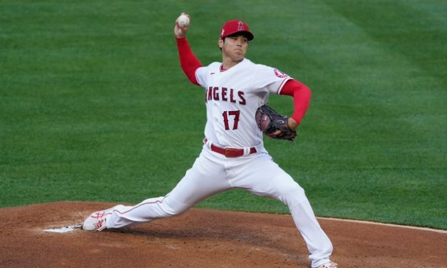 Ohtani 'fine' after limping off from historic start