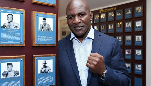 Holyfield set for return vs. Tyson's final opponent