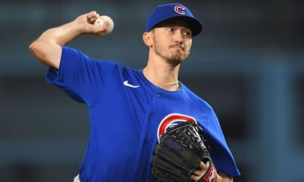 Cubs' Davies, 3 others combine to no-hit Dodgers