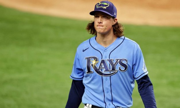 Glasnow blames MLB crackdown for UCL injury