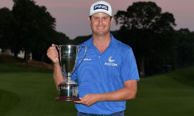 English prevails in 8-hole playoff to win Travelers