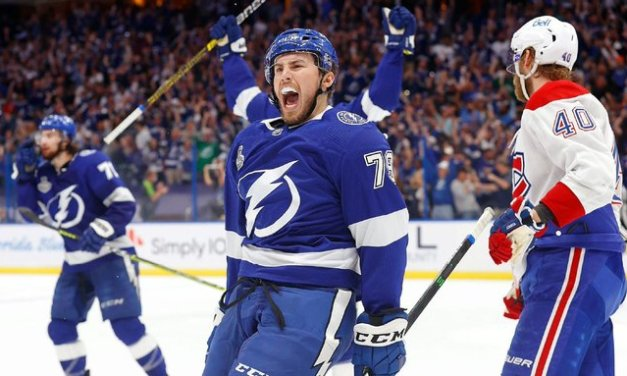Lightning 'etched in history' with Cup repeat