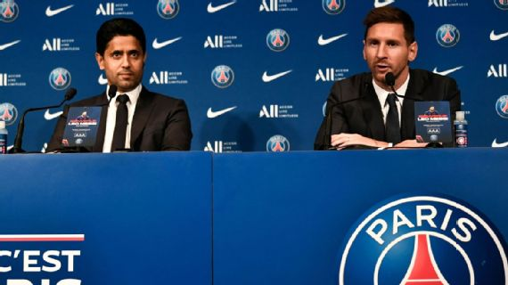 Messi eyes UCL title with PSG after Barca exit